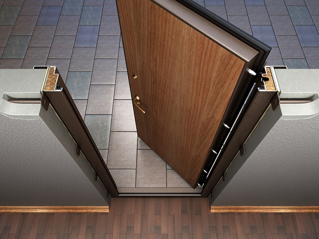 установка собственной металлической двери стоимость